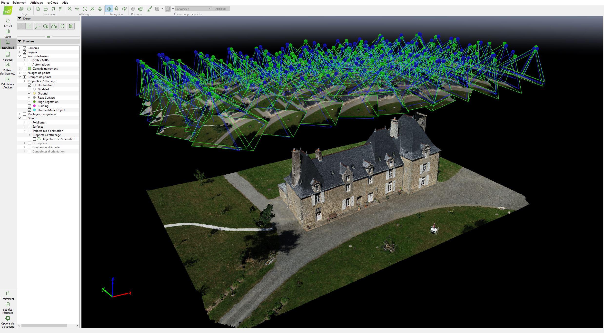 Inspection et Modélisation par drone
